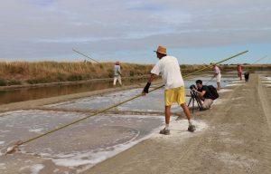 Tournage vidéo pour les Sauniers de l'Ile de Ré