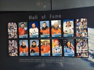 Maquette Hall Of Fame Cité de l'espace