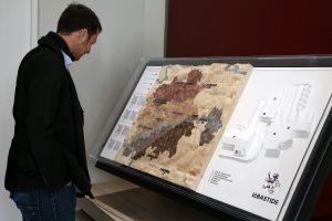 Realisation d'une maquette du territoire de Labastide de Levis