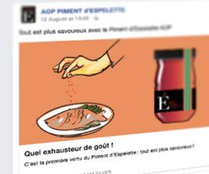Illustration réseau social Facebook